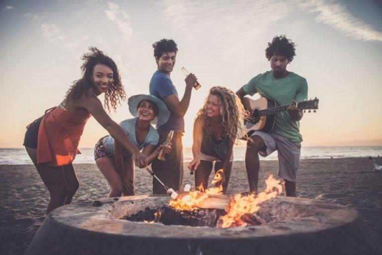 Bonfire-Party